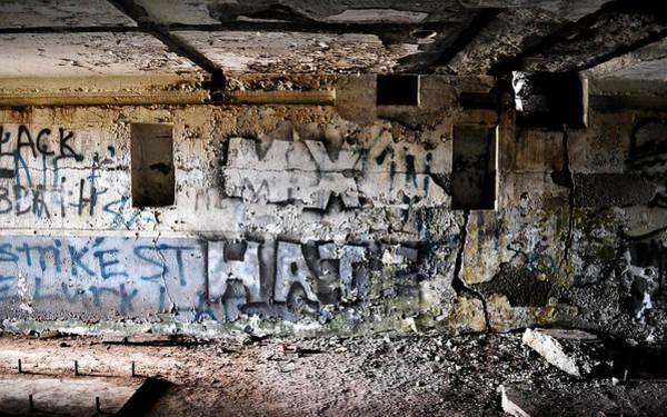 Photograph - Wall Of Hate by Matt Hanson