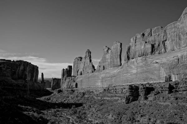 Photograph - Wall Street Arches National Park Utah by Scott McGuire