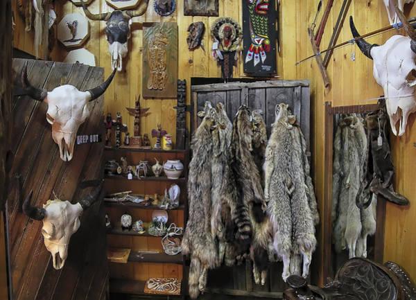 Trapping Photograph - Wallace Idaho Trading Post by Daniel Hagerman