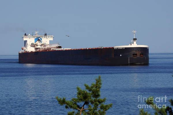 Wall Art - Photograph - Walter J Mccarthy Jr Ship by Lori Tordsen