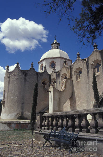 Atotonilco Photograph - Wandering Cloud Atotonilco Mexico by John  Mitchell