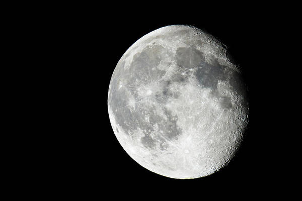 Photograph - Waning Gibbous by Adam Pender