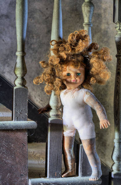 Chucky Wall Art - Photograph - Wanna Go Upstairs And Play by JC Findley