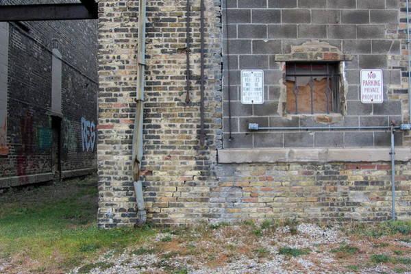 Photograph - Warehouse Drain Pipe 2 by Anita Burgermeister