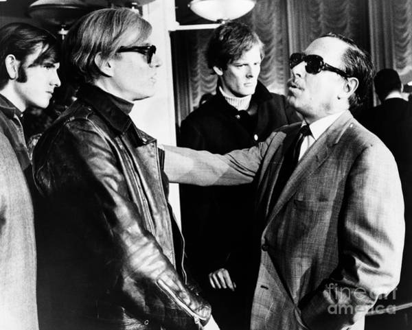 Photograph - Warhol And Williams, 1967 by Granger