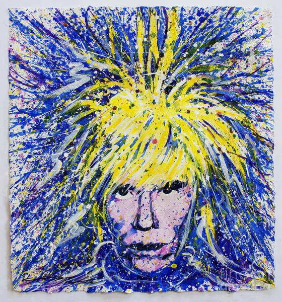 Andy Warhol Painting - Warhol II by CK Mackie