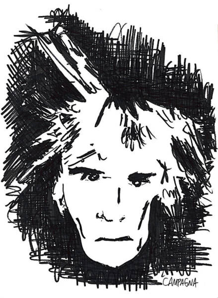 Painting - Warhol by Teddy Campagna