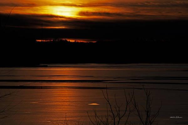 Photograph - Warm Winter Sunset by Edward Peterson