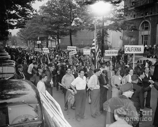 Photograph - Washington D.c.: Wpa March by Granger