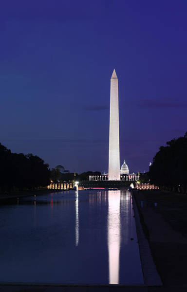 Photograph - Washington Monument At Sunset by Metro DC Photography