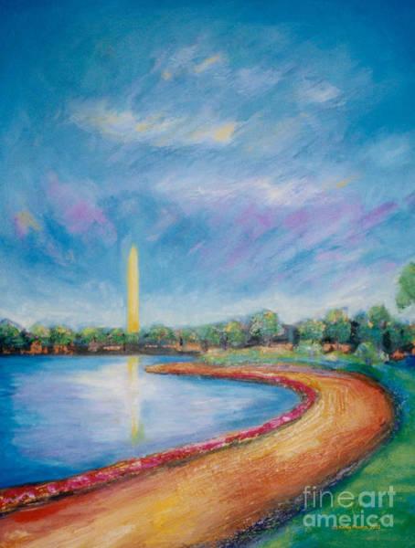 Wall Art - Painting - Washington Sky by Karen Francis