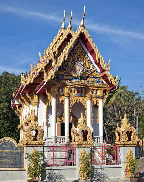 Photograph - Wat Chai Mongkol Ubosot Dthu206 by Gerry Gantt