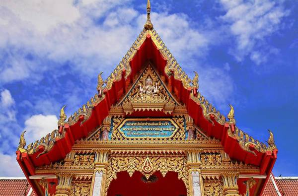 Photograph - Wat Chalong 2 by Metro DC Photography