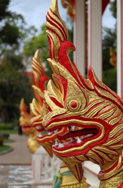 Wat Chalong 3 Art Print