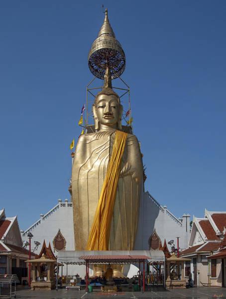 Phra Phrom Photograph - Wat Intarawiharn Phra Luang Phor Toh Standing Buddha Dthb294 by Gerry Gantt