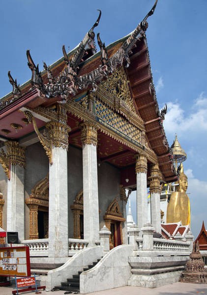 Phra Phrom Photograph - Wat Intarawiharn Ubosot Dthb1277 by Gerry Gantt