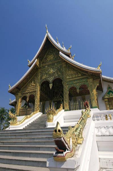 Wall Art - Photograph - Wat Sen Dragons by Gloria & Richard Maschmeyer