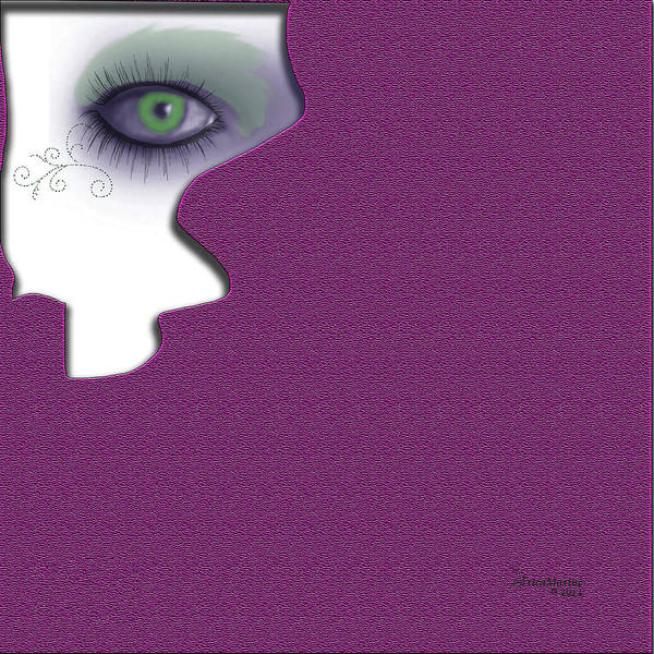 Digital Art - Watching 5 by Ericamaxine Price