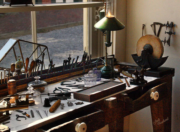Wall Art - Photograph - Watchmaker's Tools by Judi Quelland