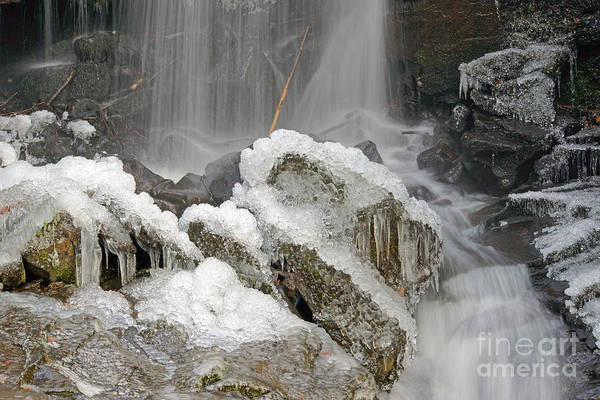 Photograph - Water And Ice And Rock 3 by David Birchall
