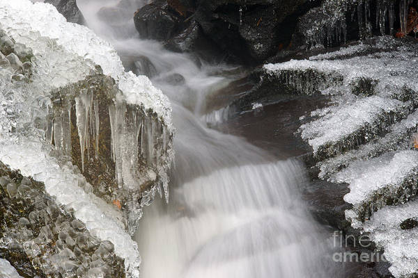 Photograph - Water And Ice And Rock 4 by David Birchall