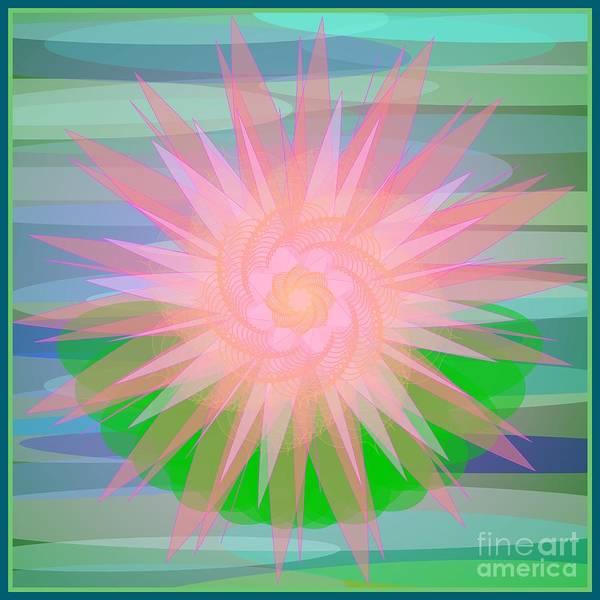 Digital Art - Water Lily 2012 by Kathryn Strick