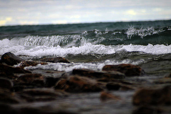 Photograph - Water On The Rocks 5 by Scott Hovind