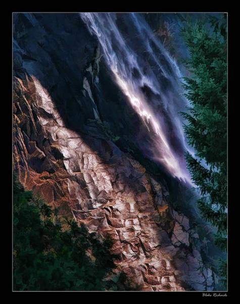 Photograph - Water Rock Tree by Blake Richards