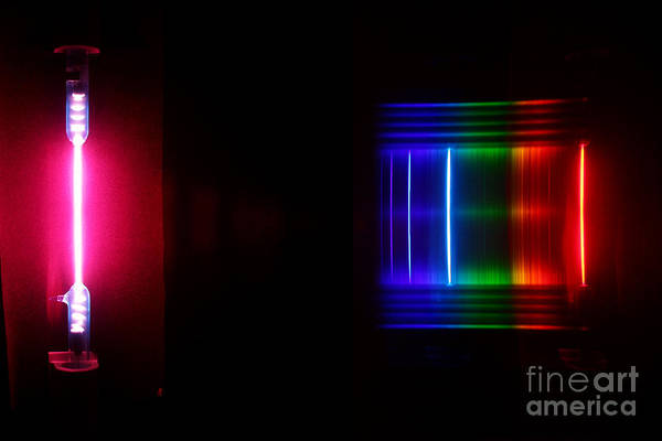 Grating Wall Art - Photograph - Water Spectra by Ted Kinsman