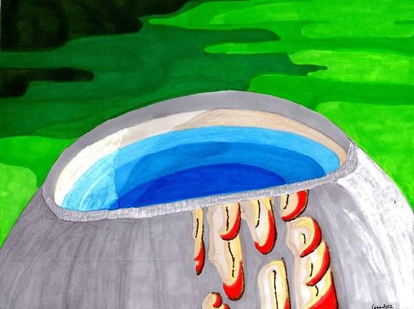 Painting - Water Vessel by Lesa Weller