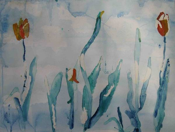 Painting - Watercolour I Thirteen by AJ Brown
