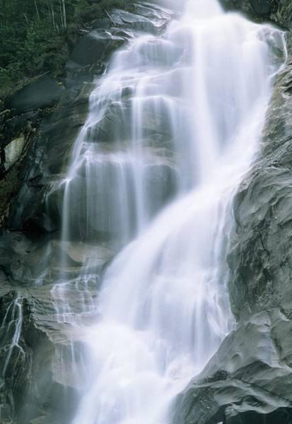 Shannon Falls Wall Art - Photograph - Waterfall by Alan Sirulnikoff