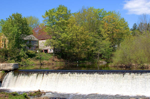 Photograph - Waterfall Close Spring by Larry Landolfi