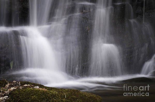 Photograph - Waterfall Detail Color by David Waldrop