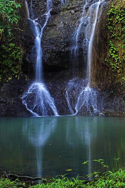 Wall Art - Photograph - Waterfall- Micoud- St Lucia by Chester Williams