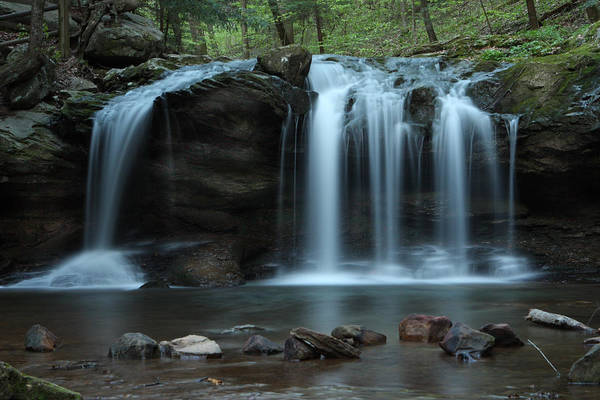 Photograph - Waterfall On Flat Fork by Daniel Reed