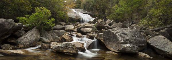 North Carolina Waterfalls Photograph - Waterfall Panorama by Andrew Soundarajan