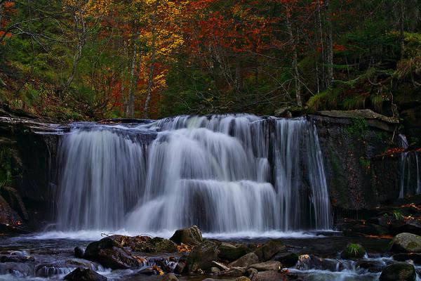 Photograph - Waterfall Svitan by Ivan Slosar