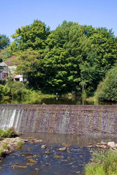 Photograph - Waterfall Vertical Summer by Larry Landolfi