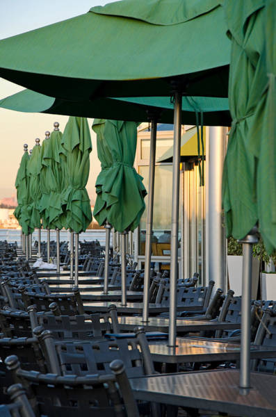 Photograph - Waterfront Diner by Margaret Pitcher
