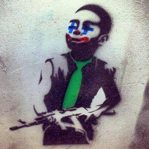 Guns Photograph - #waterloo #gun #clown #ighub #igers by Neil Ormsby