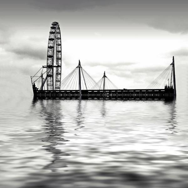 Millenium Photograph - Watery Eye by Sharon Lisa Clarke