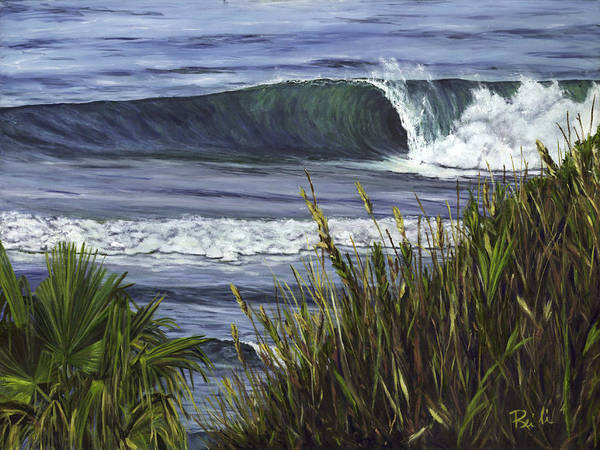 Wall Art - Painting - Wave 4 by Lisa Reinhardt