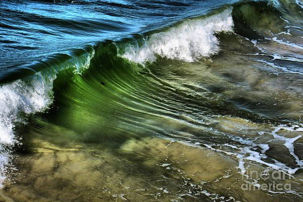 Art Print featuring the photograph Wave by Mareko Marciniak