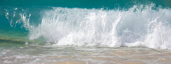 Wall Art - Photograph - Waves Beaking On The Shore Of Big Beach by Ivan SABO