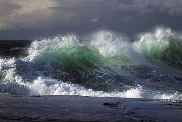 Blast Wave Wall Art - Photograph - Waves Crashing On Cape Kiwanda by Natural Selection Craig Tuttle