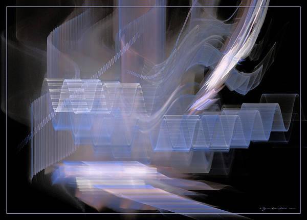 Digital Art - Waves Like Music Vol. 1 by Sipo Liimatainen