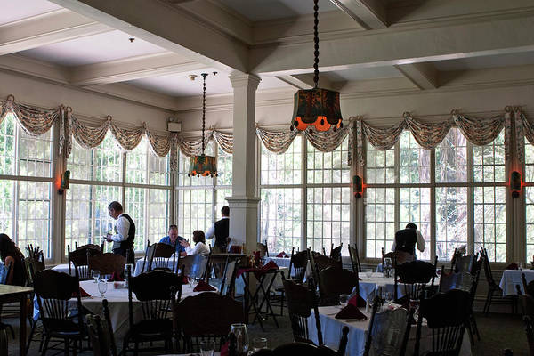 Photograph - Wawona Dining Room by Lorraine Devon Wilke