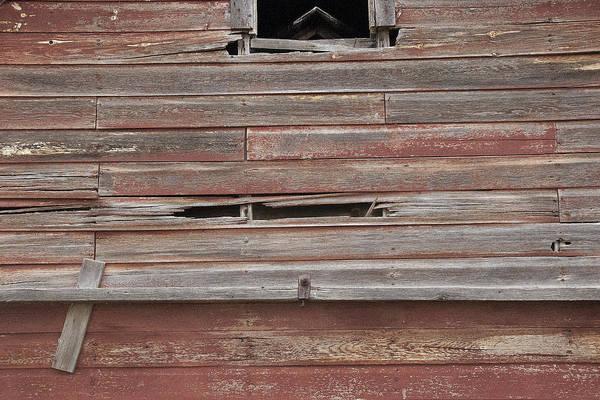 Photograph - Weathered Granary 2 by David Kleinsasser