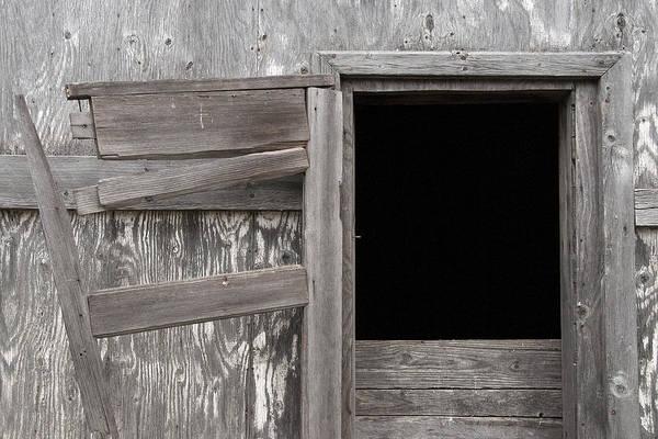 Photograph - Weathered Granary 3 by David Kleinsasser